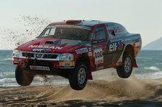Nissan Pickup of Colin McRae at 2005 Dakar Rally