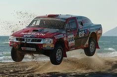Exif | Nissan Pickup of Colin McRae at 2005 Dakar Rally | Flickr - Photo Sharing!