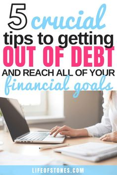 These 5 tips were the most important to me when I was on my debt free journey! These awesome tips helped me pay off all my debt fast! If you need to get out of debt click the pin to read this super helpful article and get these tips to pay off credit card Financial Peace, Financial Tips, Financial Planning, Iowa, Oklahoma, Debt Free Living, Debt Snowball, Paying Off Credit Cards, Get Out Of Debt