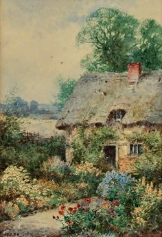 Theresa Sylvester Stannard An Old English Cottage