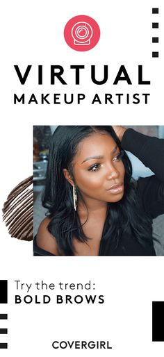 Try the latest trends and test out new products using your computer's camera and the COVERGIRL virtual makeup artist. Click through to try it for yourself. Cat Eye Makeup, Skin Makeup, Beauty Makeup, Hair Beauty, Contour Brush, Contouring And Highlighting, Makeup Brush Set, Virtual Makeup, Beauty Zone