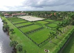 The academy and pastures Equestrian Stables, Horse Stables, Horse Barns, Horses, Dream Stables, Dream Barn, Horse Farm Layout, Horse Paddock, Horse Barn Designs