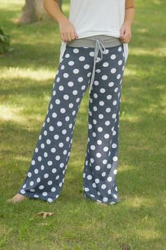 Polka Dot Pants – Blue Layne Boutique