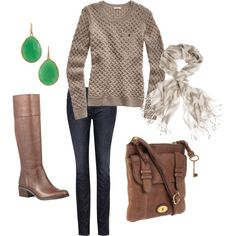 warm winter casual
