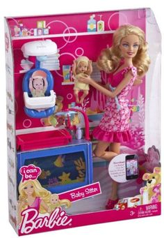 Barbie I Can Be… Baby Sitter Doll V6934