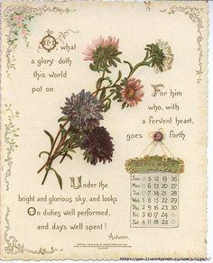 Gallery.ru / Фото #12 - Календарь на 1887 год - MontanaBY