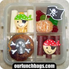 What's In Our Lunch Bags?: John's Talk Like A Pirate Day Lunch! (A BBF Blog Hop WITH Booty!)