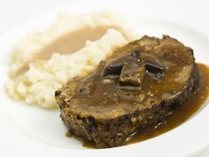 This Polish recipe for meatloaf stuffed with mushrooms uses a ground meat mixture that can be made into a loaf shape, meatballs or patties.