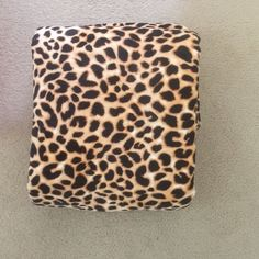 Vs cheetah Sherpa blanket brand new with bag Vs Sherpa brand new, only took out for pics Victoria's Secret Other