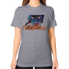 Unisex T-Shirt (on woman) - Panther Pride