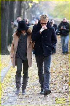 Ryan Gosling con un Peacoat de Schott NYC www.cupidkillerboutique.com