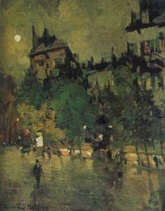 After Rain,Paris - Constantin Alexeevich Korovin - The Athenaeum