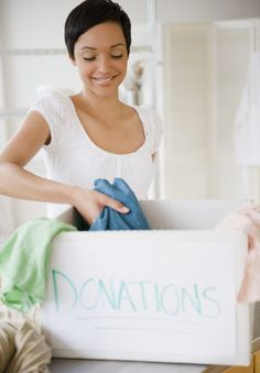 An Illustrated Guide to Donating and Selling Old Clothes | An illustrated guide to donating and sellingpost closet-purge.