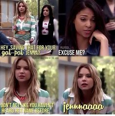 Lol! ;D Hanna's the best!