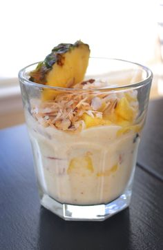Made with Chobani: Healthy Tropical Dessert Parfait