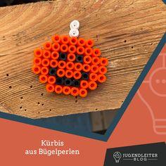 Diese Ideen mit Bügelperlen sind mit Kindern supereinfach nachzumachen. Einfach die Farben zusammensuchen und die Bilder nachbauen. Material und Informationen dazu findest du im Jugendleiter-Blog! Crochet Earrings, Blog, Material, Simple, Colors, Kids, Ideas, Blogging