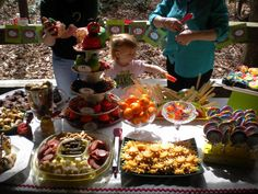 Very Hungry Caterpillar party foods
