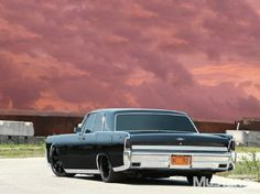 Check out this 1964 Lincoln Continental that was definitely made for the dark. Don't miss any details on this uniquely modified Lincoln.