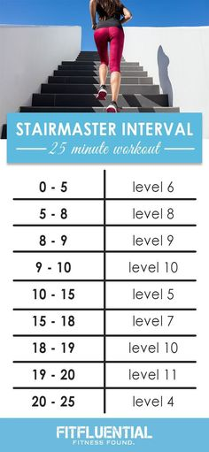 STAIRMASTER workout #fitness
