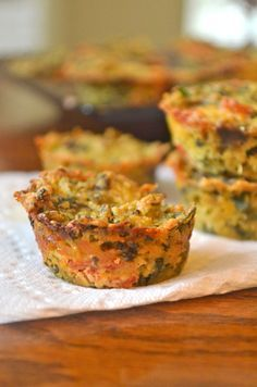 Quiche Bites are vegan, gluten-free, full of vegetables, and so much like the real thing. #gf #glutenfree
