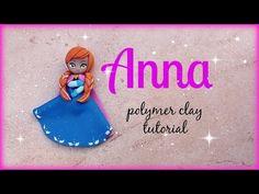 ▶ ❅ Anna - Frozen Polymer clay Tutorial ☃ ❅
