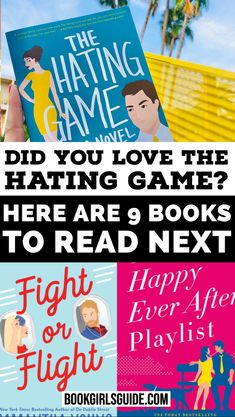 We've noticed people looking for books similar to The Hating Game by Sally Thorne and we can see why. It's a new staple in the enemies to lovers sub-genre of rom com novels. Books To Read In Your 20s, Books To Read For Women, Best Books To Read, Good Books, My Books, Beach Reading, I Love Reading, The Hating Game, Best Fiction Books