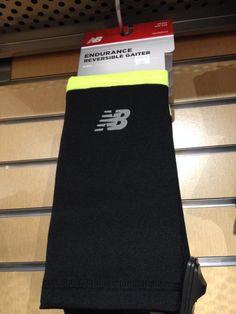 #Endurance_reversible_gaiter.  Echarpe de course. 19.95 $. Maintenant disponible à la boutique New Balance Montréal. Pour plus d'informations, appelez notre boutique au 514-844-2777, ou rendez-vous sur www.newbalancemontreal.com et www.fitexpert.ca.
