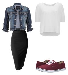 """""""idk"""" by cupcakes2516 on Polyvore featuring Vans, maurices, Vero Moda, Doublju, women's clothing, women, female, woman, misses and juniors"""