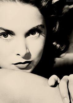 Janet Leigh - I think she's really pretty. It's not like Woah! she's gorgeous, but like she's really pretty.