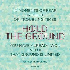 Jeffrey R. Holland.