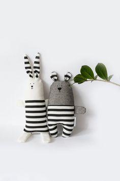 Monochrome Teddy Bear toy Baby minimal bear toy Stuffed | Etsy Crochet Teddy, Crochet Bear, Crochet For Kids, Teddy Bear Toys, Teddy Bears, Ideal Toys, Fabric Toys, Sewing Toys, Newborn Gifts