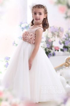 42 Perfectly Pretty Flower Girl Dresses - satin, organza, lace, chiffon, tulle and tutu style flower girl dresses. #flowergirldress See more at http://www.theweddingguru.ca/42-perfectly-pretty-flower-girl-dresses/