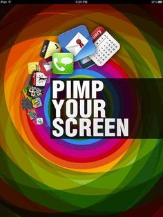 """""""Pimp Your Screen"""" - #1 Lifestyle App on Mopapp Rankings today"""