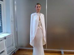 Bridal cape by Elizabeth Fillmore