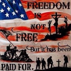 The price for freedom is blood