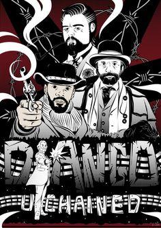 Django Unchained poster by Erol Osman