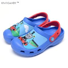 summer children boys girls slipper's cartoon thomas shoes Sandals Non-slip Jelly Shoes Sandals Children Antiskid beach shoes //Price: $23.00 & FREE Shipping //     #HALOWEEN