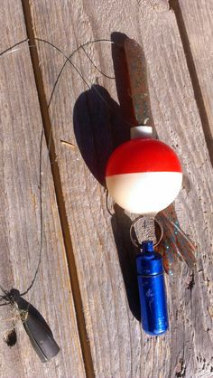 Bobber Geocache Fishing Geocaching Water by TheRecycledGreenRose