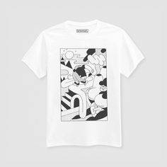 Simon Landrein Shirt Print Design, Tee Design, Grafik Design, Apparel Design, Cool Shirts, Printed Shirts, Streetwear, Screen Printing, Graphic Tees