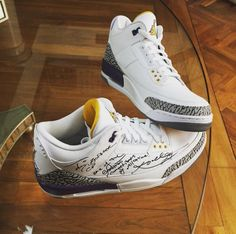 uk availability f33f6 db765 Kobe Bryant Gifts Chris Paul The Air Jordan 3 From The Air Jordan Kobe Pack