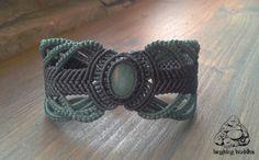 Unique handmade macramé bracelet by byLaughingBuddha on Etsy