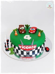 Disney Pixar Cars Cake