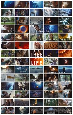 The Tree of Life. Probably the most ambitious movie I've ever watched.