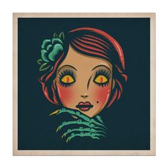 Masked - Print 7x7 · Dave Quiggle Illustration · Online Store Powered by Storenvy