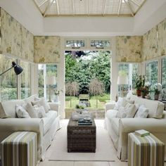 Create a classic garden room | Conservatory decorating ideas | PHOTO GALLERY | Ideal Home | Housetohome