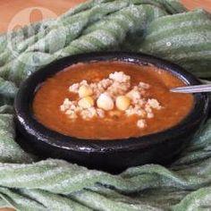 Chorba frik sans viande (soupe algérienne au boulgour) @ allrecipes.fr