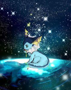 My favorite Pokemon! Fan Art Pokemon, Pokemon Eeveelutions, Eevee Evolutions, Pokemon Memes, My Pokemon, Cool Pokemon, Pokemon Painting, Kawaii Doodles, Pokemon Pictures