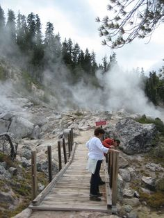 guide to lassen volcanic national park geothermal california
