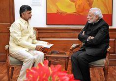 Naidu Meets PM Modi Today
