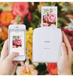 cool little photo printer that's wireless for your phone.